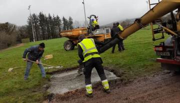 hurling wall foundations 1