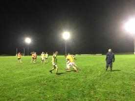 Training Under lights Kilgarvan GAA